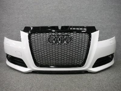 8PCAX・アウディA3/RS3タイプ・グリル付き/フロントバンパー/後期型