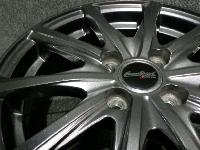 MANARAY SPORT Euro Speed:15x5.5J+50・PCD:100-4H アルミホイール/4本セット